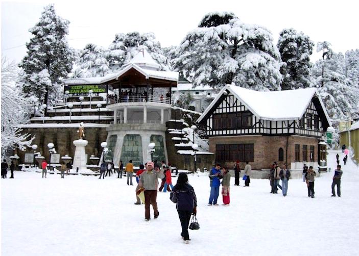 Snowfall, Shimla