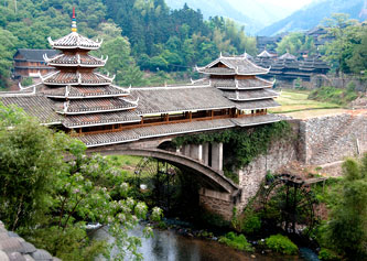 Sanjiang China, Travel to China