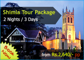 Shimla tour,Shimla Holiday Package