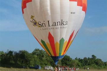 Ballooning Sri Lanka