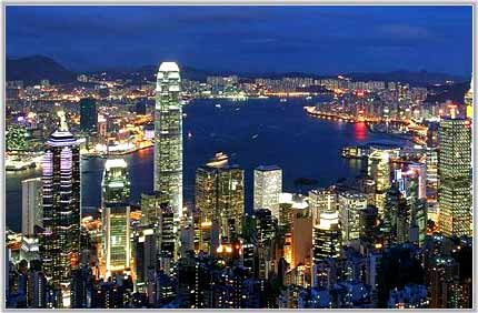 View of Hongkong